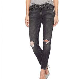 Levis 711 Skinny Jeans 30X30 Bandit Black
